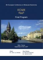 ECME-2007 - The 9th European Conference on Molecular Electronics