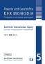 Theorie und Geschichte der Monodie - Band 5