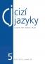 Cizí jazyky - č. 5 2011/2012 ročník 55